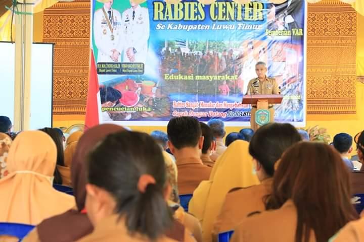 Dinkes Luwu Timur Canangkan Rabies Center