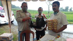 JAPIK Sinjai Kembali Salurkan Bantuan ke Posko Covid-19 di Perbatasan Sinjai-Gowa