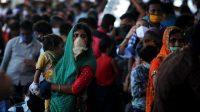 Dalam sehari, India melaporkan lebih dari 26.000 kasus virus korona baru