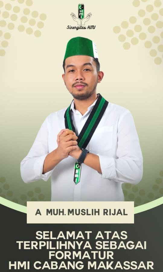 Konferensi Cabang, Andi Muh Muslih Rijal terpilih sebagai Formatur Ketua Umum HMI Cabang Makassar